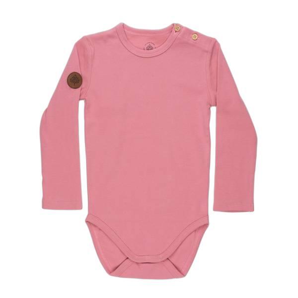 Bilde av Gullkorn Design Villvette body til baby, rosa