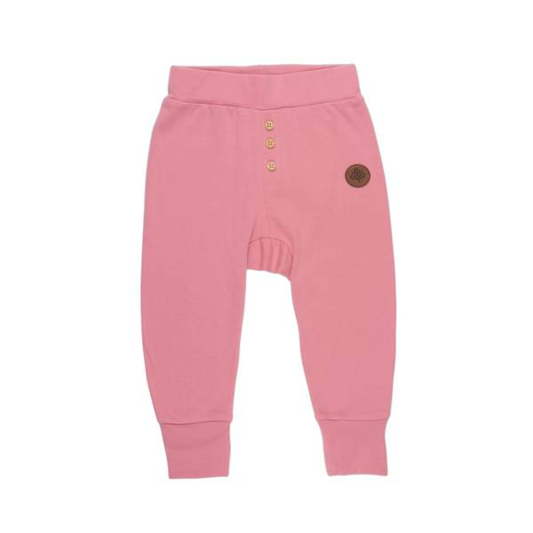 Bilde av Gullkorn Design Villvette bukse til baby, rosa