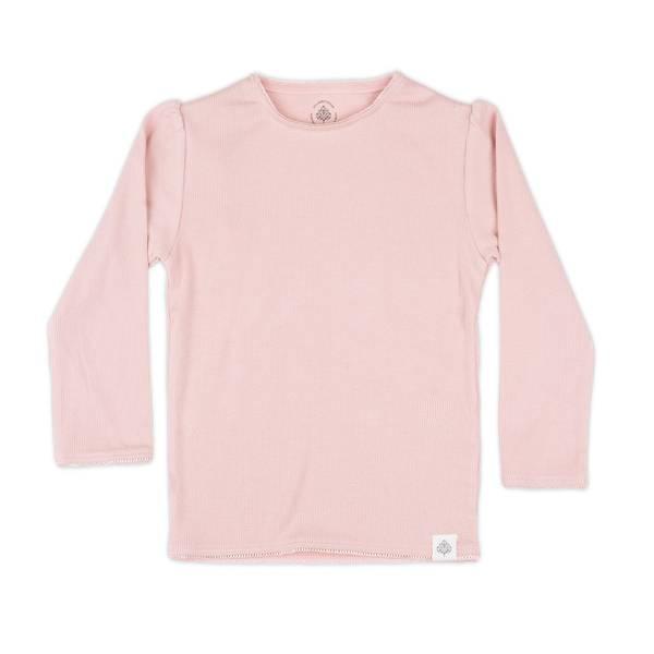 Bilde av Gullkorn Design Svalen ribb longsleeve, lys rosa
