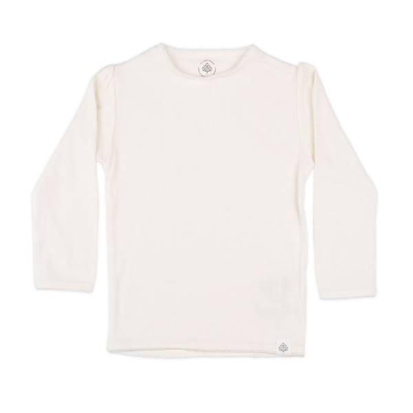 Bilde av Gullkorn Design Svalen ribb longsleeve, varm hvit