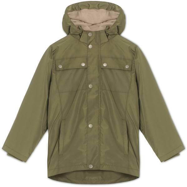 Bilde av Mini A Ture wagner jakke med fleecefôr, oliven