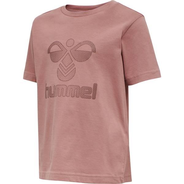 Bilde av Hummel Drei t-skjorte til barn, Burlwood