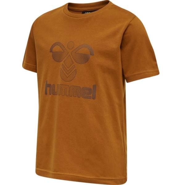Bilde av Hummel Drei t-skjorte til barn, Caramel Café