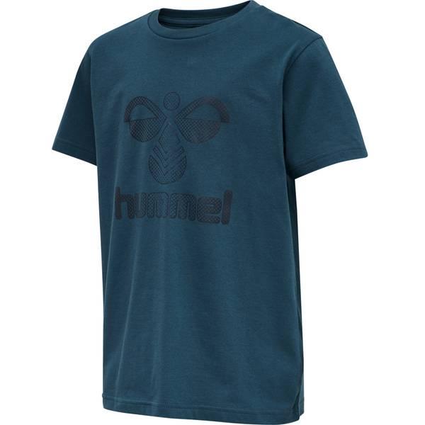 Bilde av Hummel Drei t-skjorte til barn, Midnight Navy