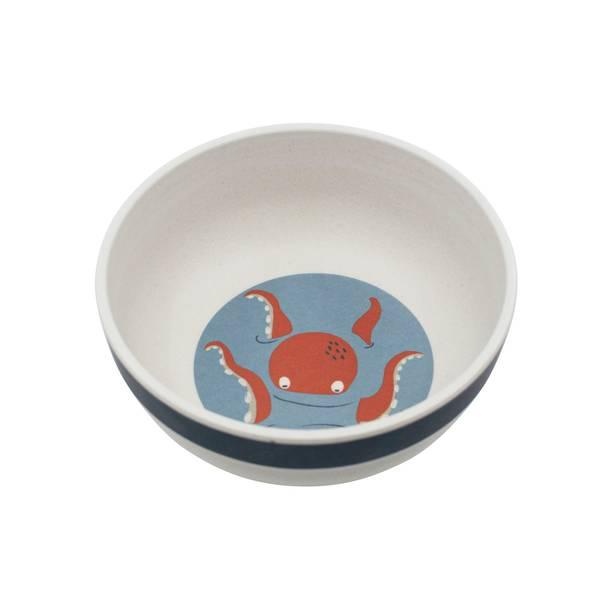 Bilde av Sebra dyp tallerken til barn, seven seas