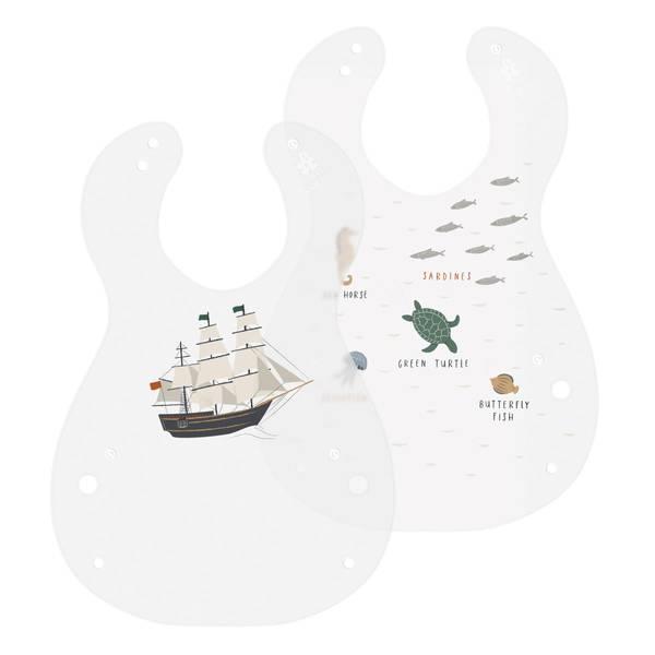 Bilde av Sebra 2 pack smekker seven seas