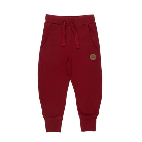 Bilde av Gullkorn Design Villvette bukse til barn, Dyp rød