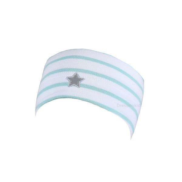 Bilde av Kivat pannebånd til barn med stjerne, hvit og