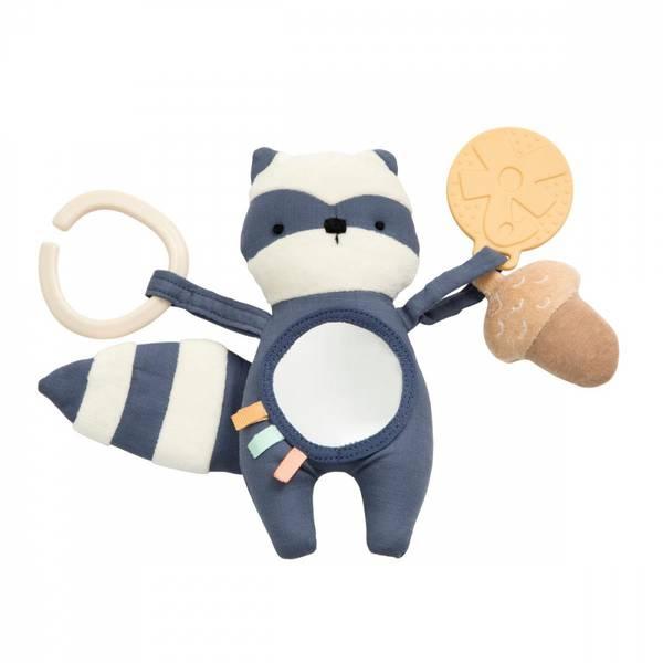 Sebra - Aktivitetsleketøy vaskebjørnen Rebel bramble blue