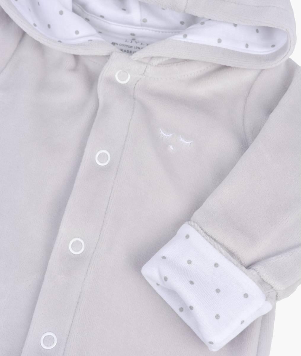 Livly - Plush Bunny Overall grey plush