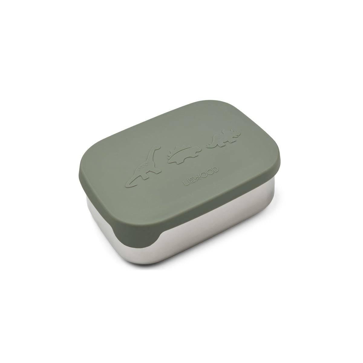 Liewood - Arthur lunchbox Dino faune green