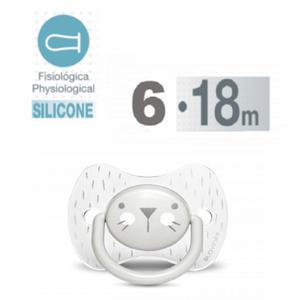 Bilde av Suavinex - Hygge Premium smokk Fysio silikon 6-18