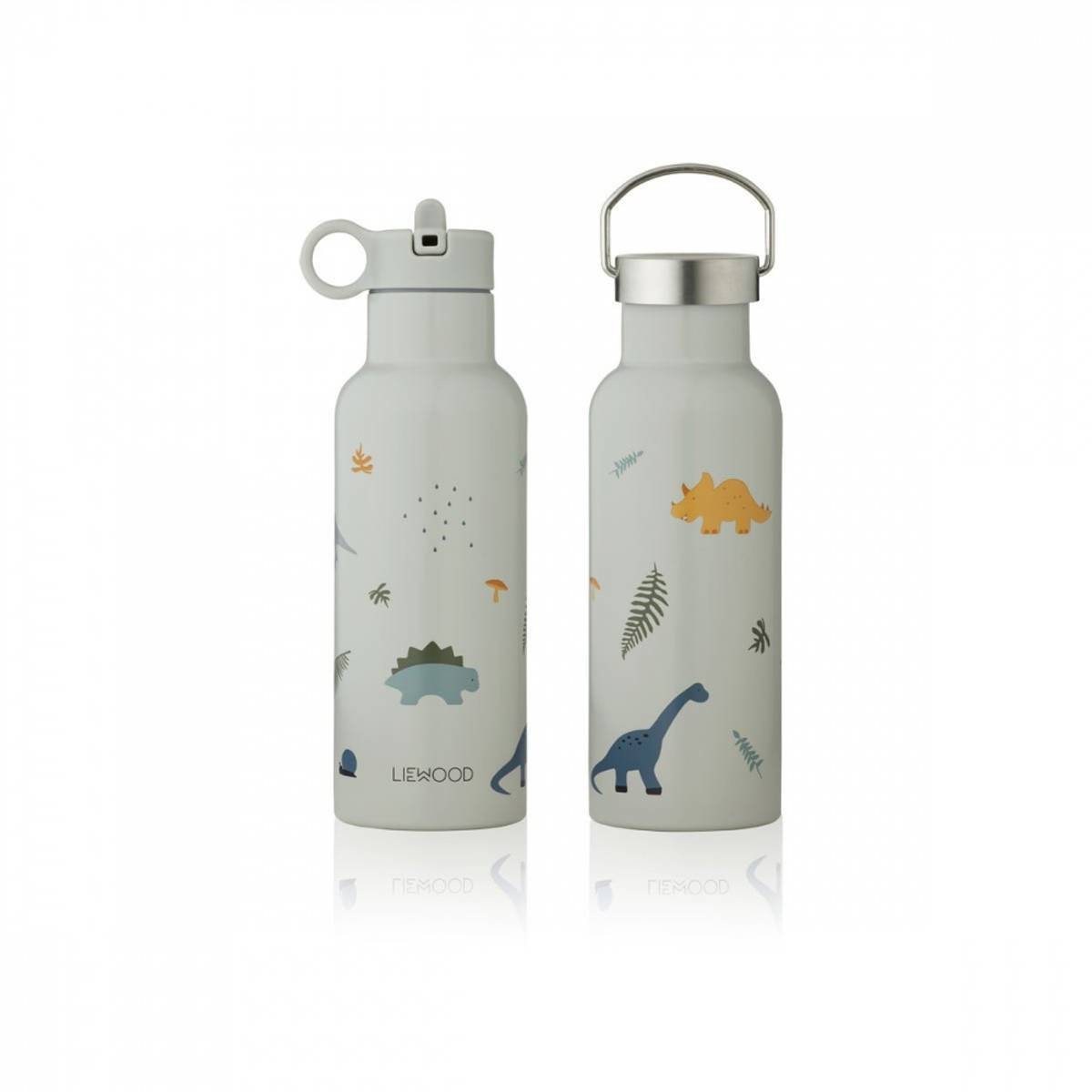 Liewood - Neo water bottle Dino dove blue mix