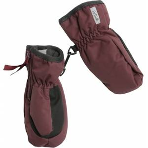 Bilde av Wheat - Mittens Zipper Tech soft eggplant