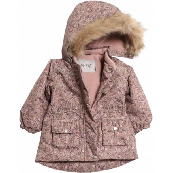 Wheat - Jacket Mathilde Tech baby rose flowers