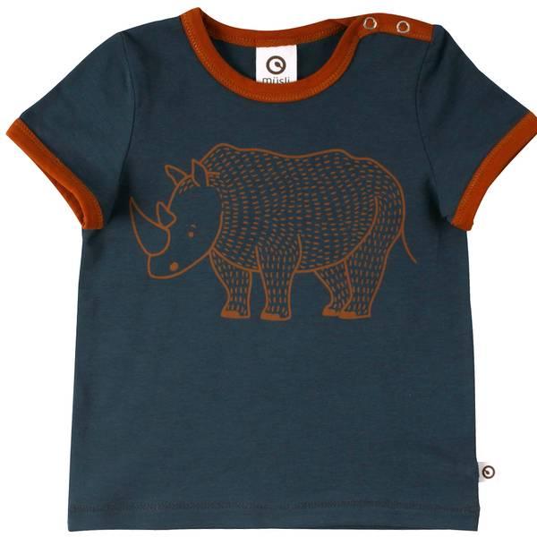 Müsli - Rhino front s/s T baby