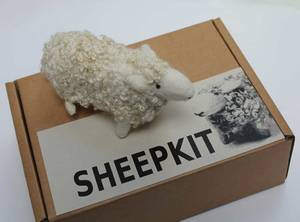Bilde av Sheep Kit - nålefilt din egen sau