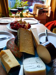Bilde av Gavepose med ost, 4 biter