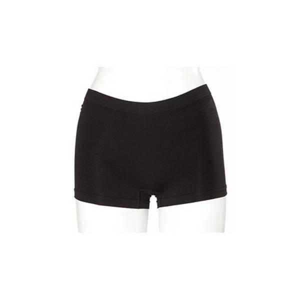 Hotpants hvit og sort
