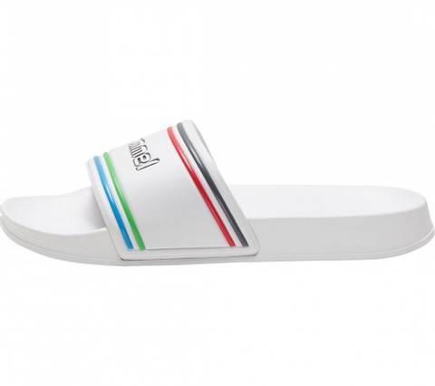 Bilde av Hummel Pool Slide Retro Slippers - White
