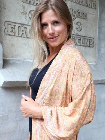 Bilde av Chic Antique Kimono - Rosa