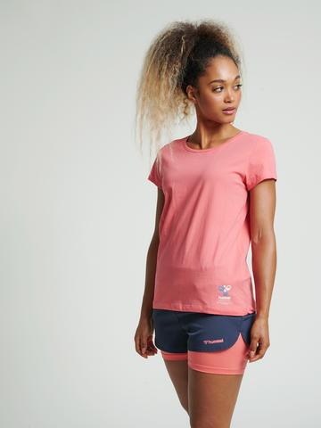 Bilde av Hummel Scarlet T-Shirt - Sugar Coral