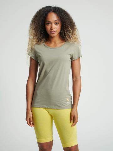 Bilde av Hummel Scarlet T-Shirt - Vetiver