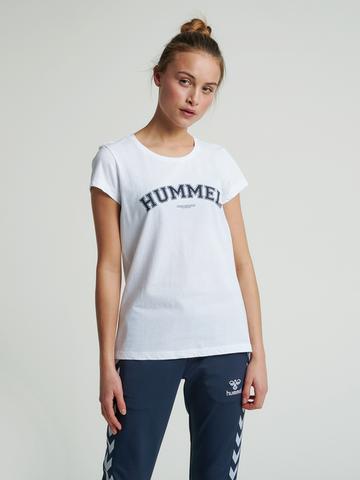 Bilde av Hummel Cyrus T-Shirt - White