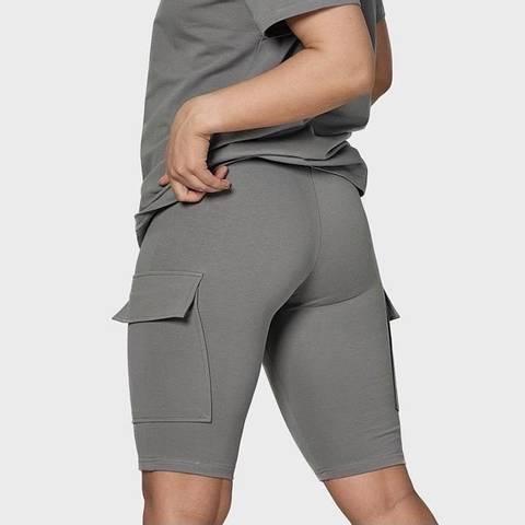 Bilde av BEKKA Pocket Shorts - Gray