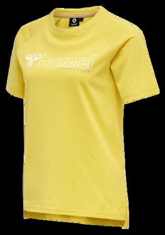 Bilde av Hummel Zenia T-Shirt - Cream Gold