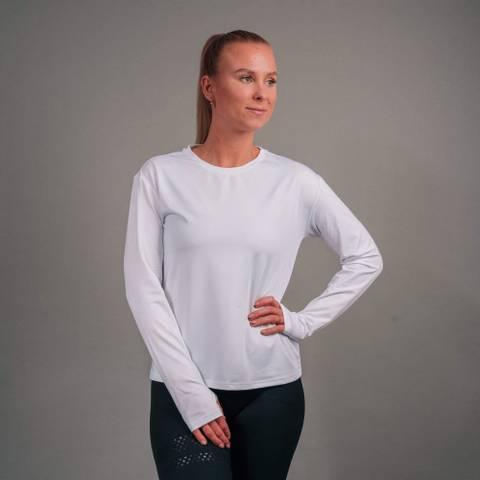 Bilde av Bara White Essential Long Sleeve