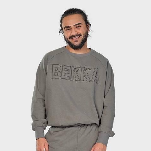 Bilde av BEKKA Him&Her Sweater - Gray