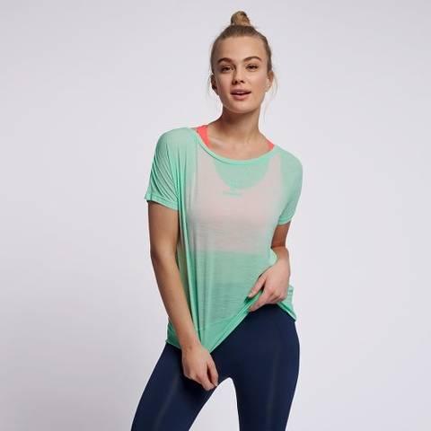 Bilde av Hummel Sunny T-Skjorte - Ice Green