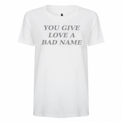 Bilde av Blake Seven T-shirt, You give love a bad name