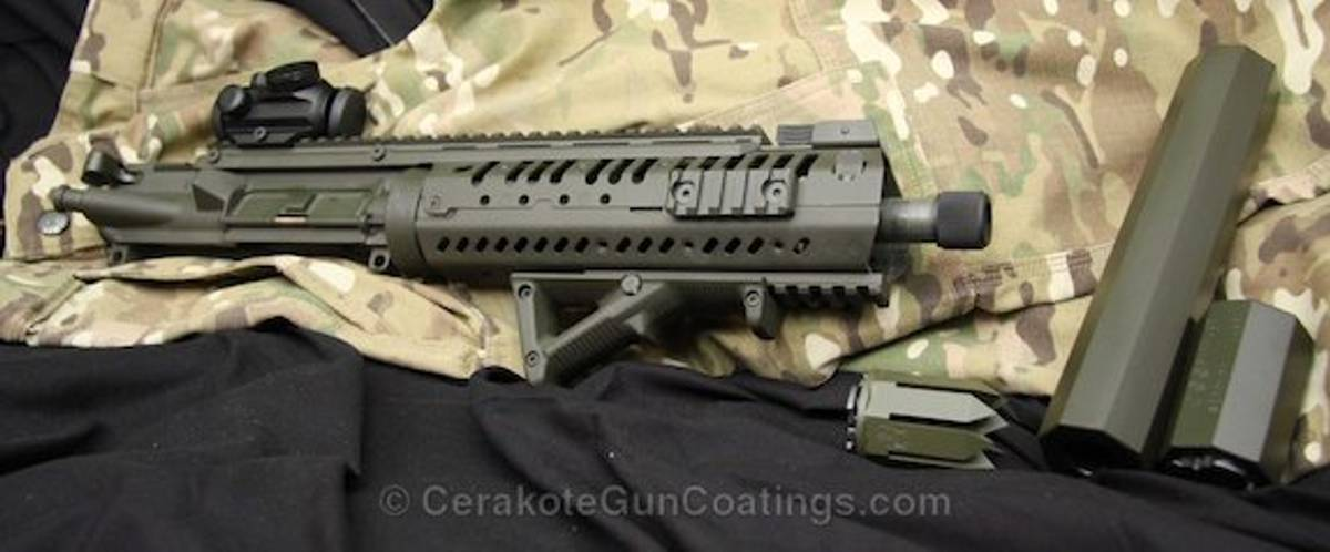 Cerakote™ C-244 MIL SPEC OD Green 120ml