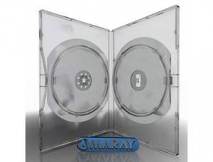 Bilde av Amaray dvd cover klar for 2 plater 1 stk.