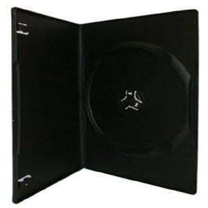 Bilde av Amaray Dvd cover sort til en plate slim 7mm 1 stk.