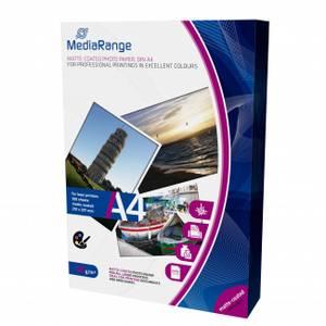 Bilde av Mediarange A4 fotopapir matt 120gr for laserskrivere 100 ark