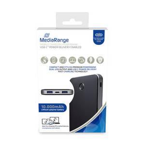 Bilde av MediaRange batteribank 10.000mAh, med USB-C™