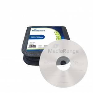 Bilde av Mediarange mediacase 16x DVD-R 4,7GB 25 stk
