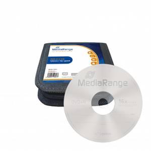 Bilde av Mediarange mediacase 16x DVD+R 4,7GB logo 25 stk