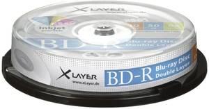 Bilde av Xlayer PRO BD-R 50GB 4x hvit printbar 10 stk