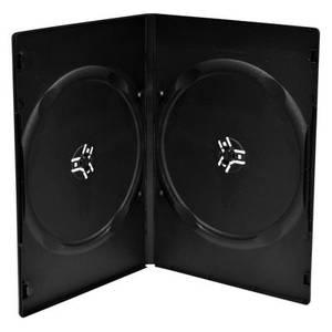 Bilde av Mediarange Dvd cover sort med plass til 2 plater kun 9mm 1 stk