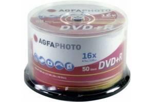 Bilde av  Agfa 16x DVD+R 4,7GB logo 25 stk
