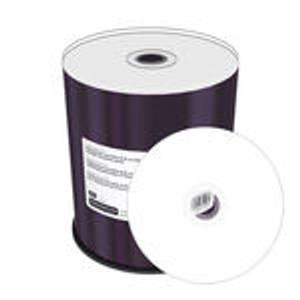 Bilde av MediaRange Pro DVD+R 8x 8.5GB dobbel lags hvit printbar 100 stk