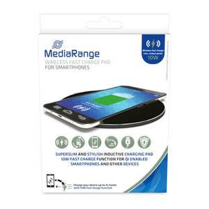 Bilde av MediaRange Trådløs hurtigladeplate for smarttelefoner, svart
