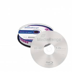 Bilde av Mediarange BD-R 25gb 2x RE 10 stk