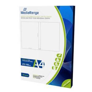 Bilde av Mediarange Dvd cover innlegg14mm 50 pack