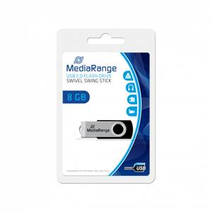 Bilde av MediaRange USB 2.0 penn 8 GB 1 stk