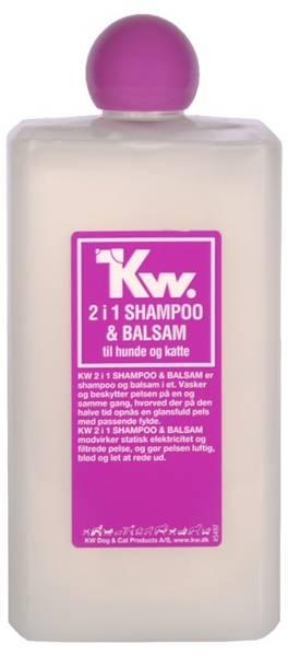 Bilde av KW 2 i 1 (Bad & Føn) shampo 500ml